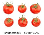 tomatoes isolated | Shutterstock . vector #634849643