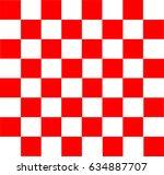 vector modern chess board... | Shutterstock .eps vector #634887707
