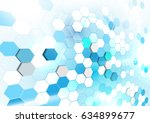 abstract geometric shapes... | Shutterstock .eps vector #634899677