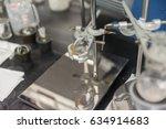 round bottom flask and burette... | Shutterstock . vector #634914683