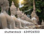 ancient buddha statue at wat... | Shutterstock . vector #634926503