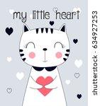 Sweet Cat Illustration Vector...