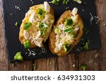 Homemade Baked Potato With...