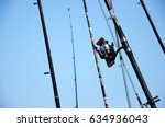port dickson  malaysia  april... | Shutterstock . vector #634936043