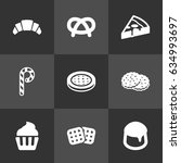 set of 9  icons set.collection...