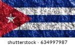 flag of cuba | Shutterstock . vector #634997987