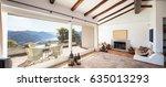 elegant apartment with... | Shutterstock . vector #635013293