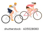 flat design people riding...   Shutterstock .eps vector #635028083