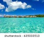 tahaa  french polynesia | Shutterstock . vector #635033513
