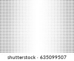 abstract halftone dotted... | Shutterstock .eps vector #635099507