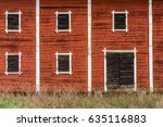 Exterior Of An Old Abandoned...