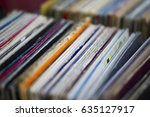 Small photo of Records in a record store