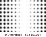 abstract halftone dotted... | Shutterstock .eps vector #635161097
