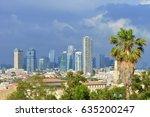 tel aviv  israel   april  2017  ...   Shutterstock . vector #635200247