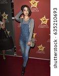 adelaide kane attends ... | Shutterstock . vector #635210693