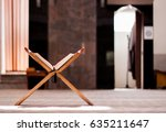 quran holy book of muslims  an... | Shutterstock . vector #635211647