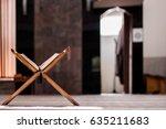 quran holy book of muslims  an... | Shutterstock . vector #635211683