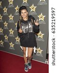 laura govan attends  celebrity... | Shutterstock . vector #635219597