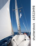 sailing boat in the sea | Shutterstock . vector #63523498
