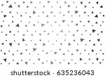 light gray vector of small... | Shutterstock .eps vector #635236043