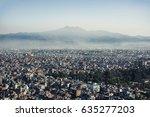 kathmandu city panorama | Shutterstock . vector #635277203