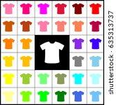 t shirt sign. vector. felt pen...   Shutterstock .eps vector #635313737