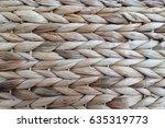 Wicker Basket Pattern Made Fro...