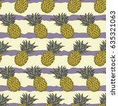 seamless vector pattern.... | Shutterstock .eps vector #635321063