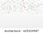 vector realistic colorful star... | Shutterstock .eps vector #635324987
