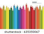 crayon flat design vector eps