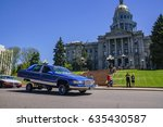 denver  may 8  the famous cinco ... | Shutterstock . vector #635430587