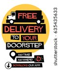 free delivery to your doorstep...