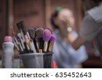 makeup | Shutterstock . vector #635452643