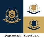 security logo  luxury brand... | Shutterstock .eps vector #635462573