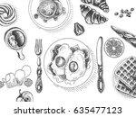 vector illustration sketch  ...   Shutterstock .eps vector #635477123