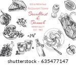 vector illustration sketch  ...   Shutterstock .eps vector #635477147