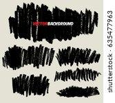 chalk texture background... | Shutterstock .eps vector #635477963