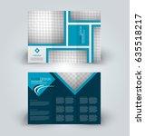 brochure template. business... | Shutterstock .eps vector #635518217