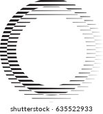 circle logo with lines.unusual... | Shutterstock .eps vector #635522933