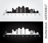wellington skyline and