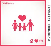 flat icon family.  | Shutterstock .eps vector #635540357