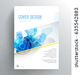 book cover design template with ...   Shutterstock .eps vector #635542883