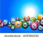 3d Illustration Of Bingo Balls...