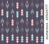 boho pattern | Shutterstock .eps vector #635624777