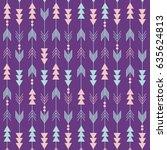 boho pattern   Shutterstock .eps vector #635624813