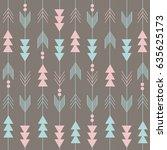 boho pattern   Shutterstock .eps vector #635625173