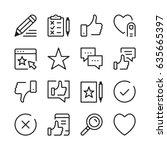 testimonials and customer... | Shutterstock .eps vector #635665397