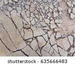 Small photo of Cement cracked floor