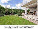 Modern House With Beauty Garde...