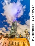 new york city   june 2013  the... | Shutterstock . vector #635739167